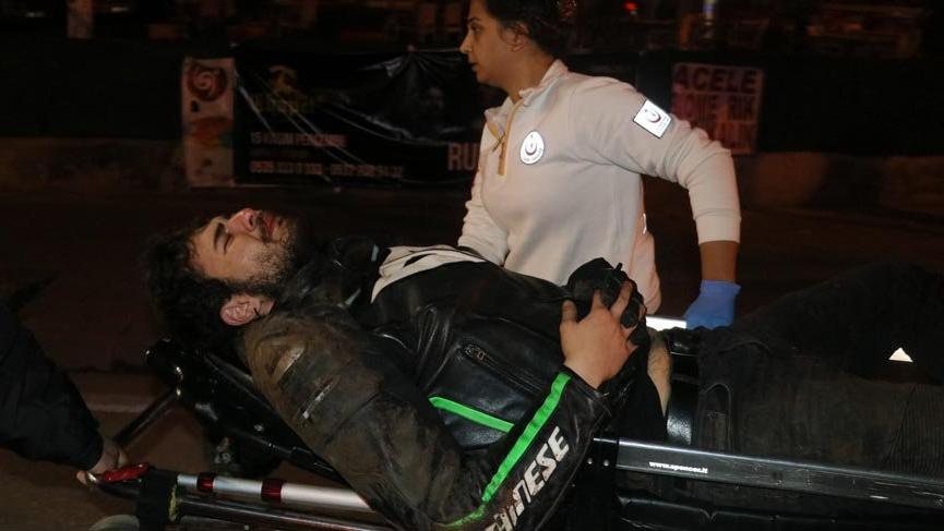 Kaza yapan sürücü: Anam babam beni bırakma Tayir