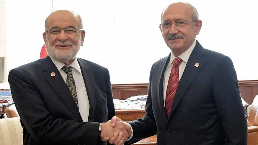 Saadet Partisi ile CHP'den kritik görüşme!