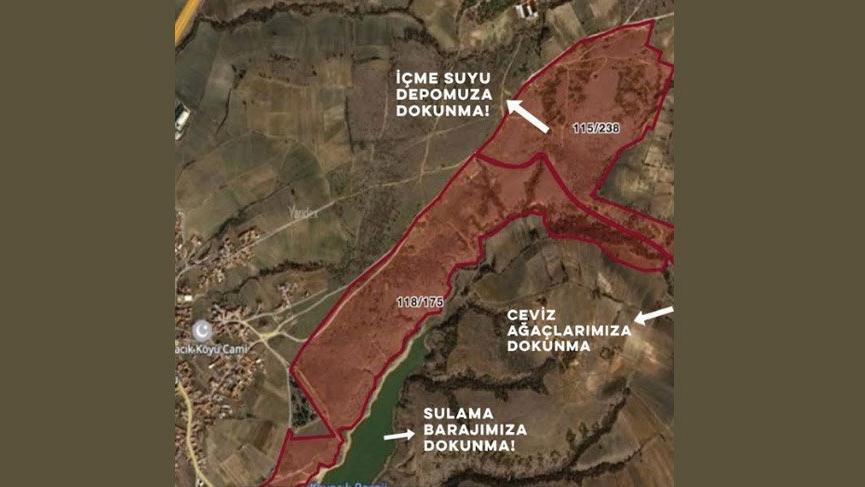 Kavacık köyü sakinleri: Zehirlenmek istemiyoruz