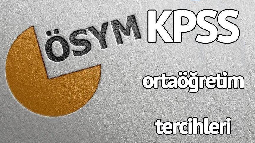 KPSS tercihleri ne zaman? KPSS ortaöğretim (lise) tercih kılavuzu yayımlandı mı?