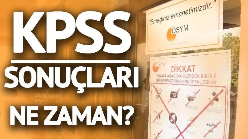 KPSS lise sınavı sonuçları için bekleyiş… KPSS sınav sonuçları ne zaman?