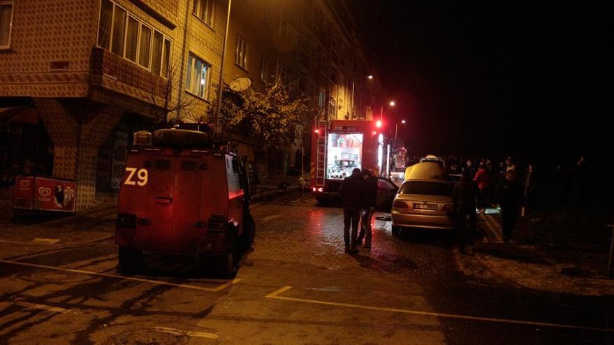 İstanbul'da park halindeki 11 araç kundaklandı