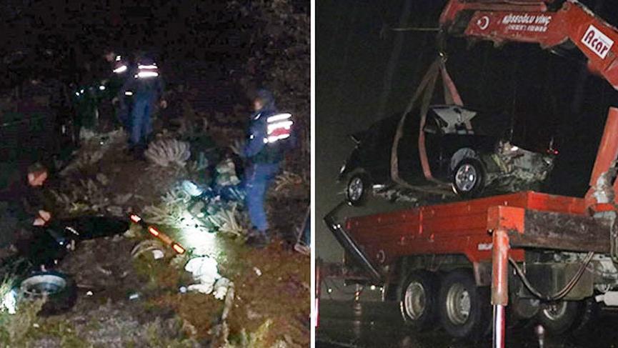 Otomobil takla attı: Ölü ve yaralılar var