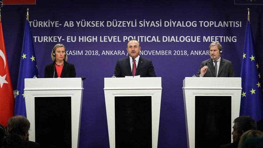 Türkiye ve AB, İran konusunda mutabık kaldı