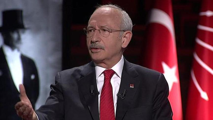 CHP lideri Kılıçdaroğlu canlı yayında açıkladı