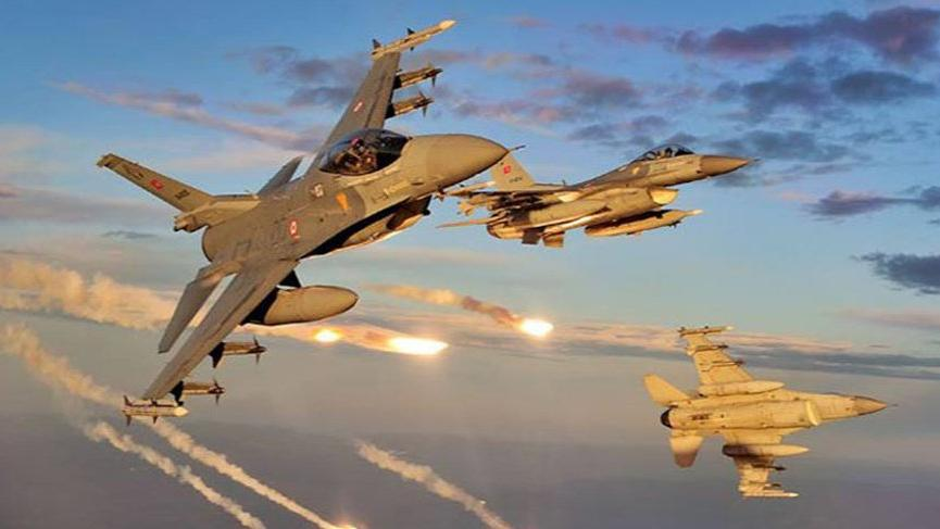 Kuzey Irak'ta PKK'ya hava harekatı!