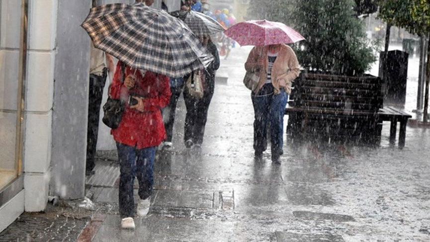 Meteoroloji'den hava durumu açıklaması | Kuvvetli sağanak geliyor