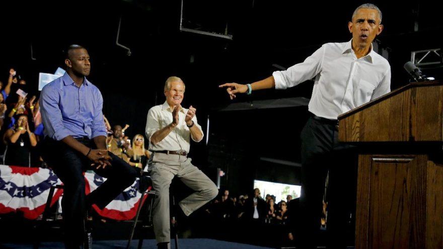 """""""En önemli seçim""""de Obama sahneye çıktı"""