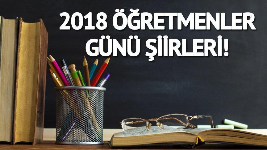 2018 Öğretmenler Günü ne zaman, hangi gün?   İşte Öğretmenler Günü için en güzel şiirler…