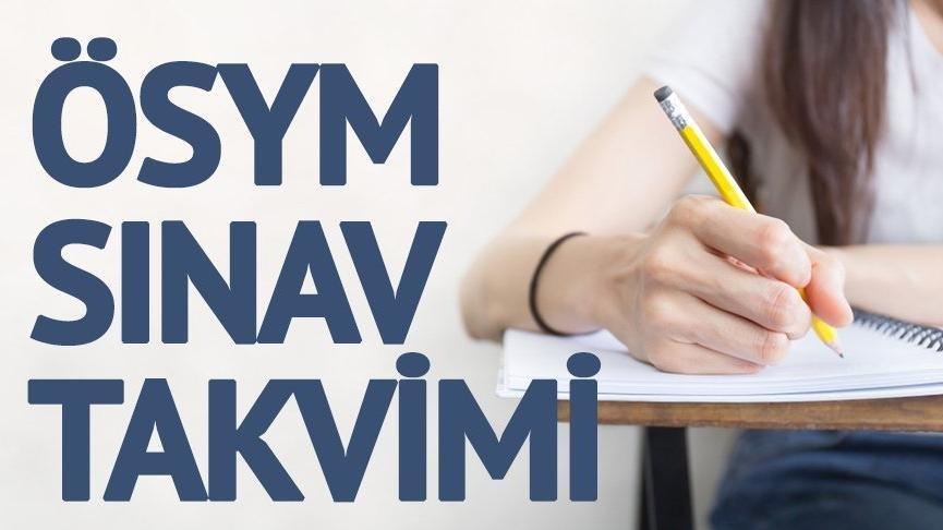 ÖSYM sınav takvimi: KPSS, DGS, YKS ne zaman?