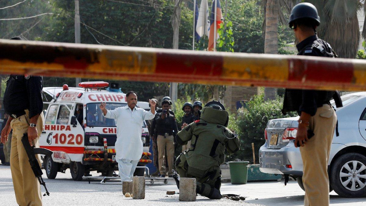 Son dakika... Pakistan'da Çin Konsolosluğu'na saldırı: Ölü ve yaralılar var