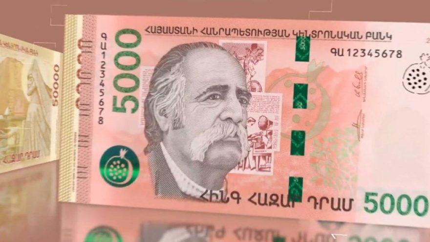 Bitlis'ten çıktı, resmi Ermenistan'ın parasına basıldı