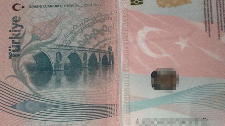 Pasaportlarda skandal hata, devlet köprüleri karıştırdı