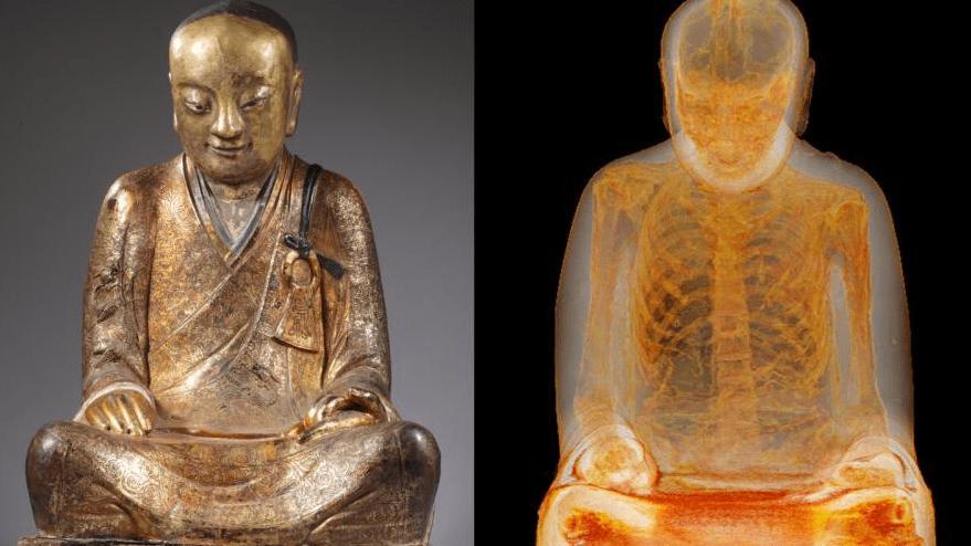 İki ülke arasında kriz çıktı… Herkes heykel sanıyordu ama içinden keşiş çıktı