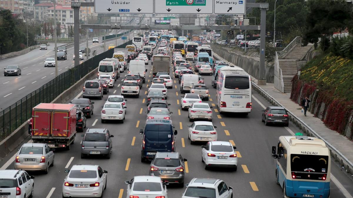 Avrasya Tüneli'nde kaza, tünel trafiğe kapatıldı