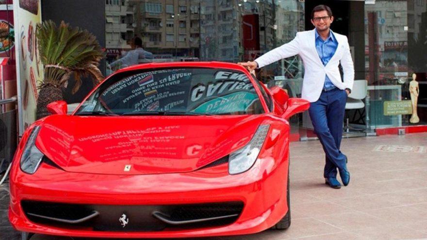 Ferrarili müteahhitberaat etti