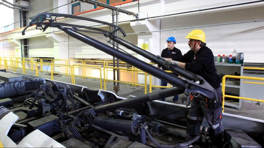 7200 euroluk tramvay parçası 6 bin liraya üretildi