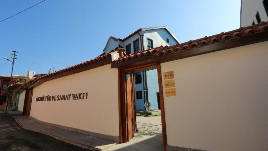 Tarihi Dalyancı Konağı 'sanat merkezi' oldu
