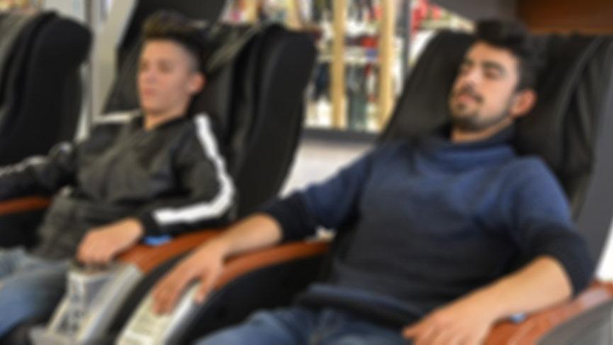 Masaj koltuğunda felç kalabilirsiniz…
