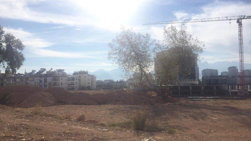 Antalya'da dev proje sessizliğe büründü