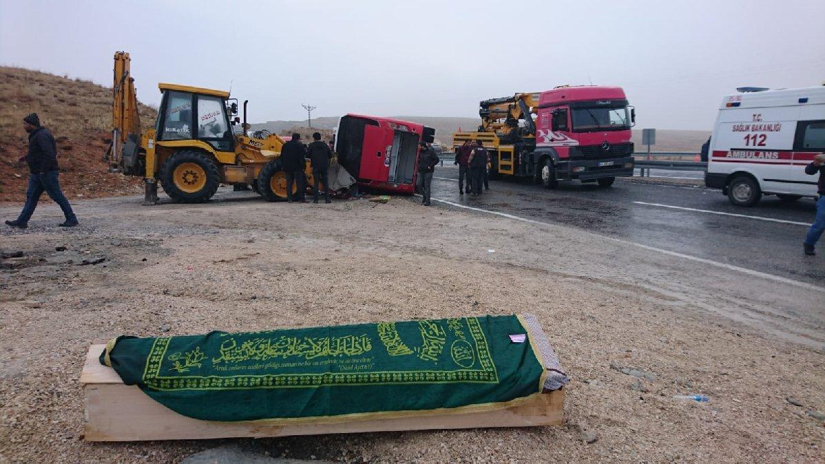 Malatya'da midibüs devrildi: 6 ölü, 16 yaralı