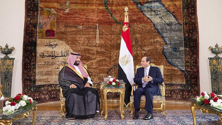 Bin Selman'ın Mısır ziyareti bayrak tartışmalarının gölgesinde kaldı! 'Acil' koduyla açıklama geldi