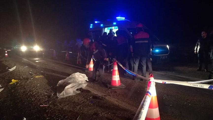 Samsun'da feci kaza! 2 ölü, 2 yaralı