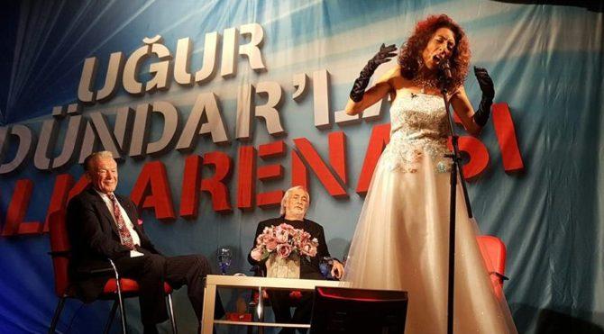 Atatürk'ün en sevdiğisesler Halk Arenası'nda!