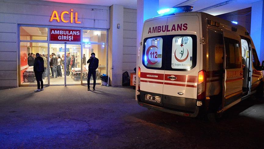 Şanlıurfa'da düğün dönüşü kaza: 1 ölü, 2 yaralı