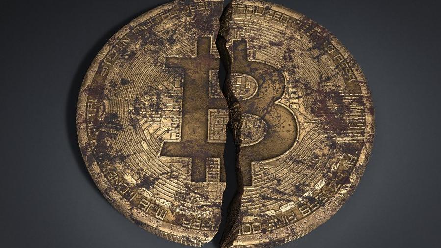 Bitcoin bir yıldır ilk kez 5 bin doların altında