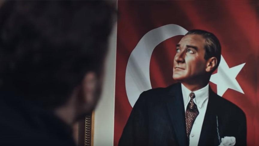 Söz yeni bölümde ders veren Atatürk sahnesi!