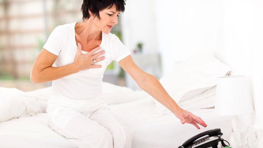 3 important signs of heart attack in women