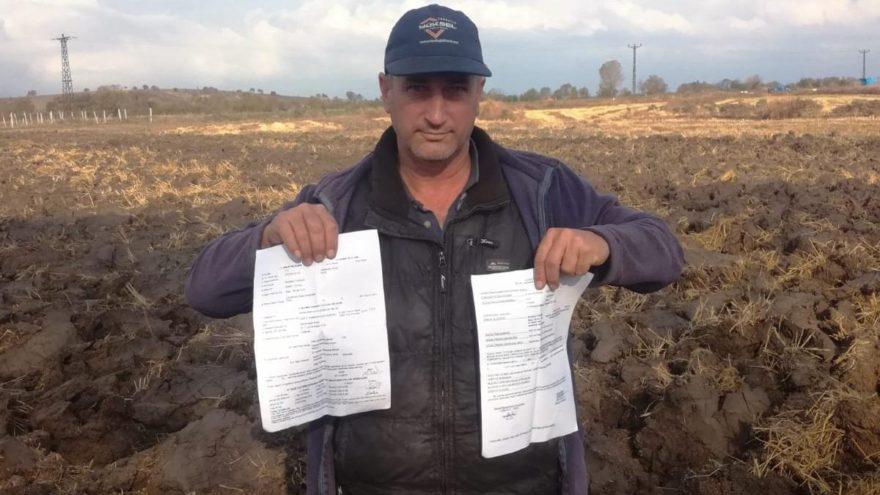 Tarla süren çiftçiye GBT gözaltısı