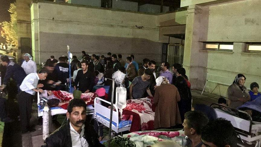 İran'daki depremde yaralı sayısı 729'a yükseldi