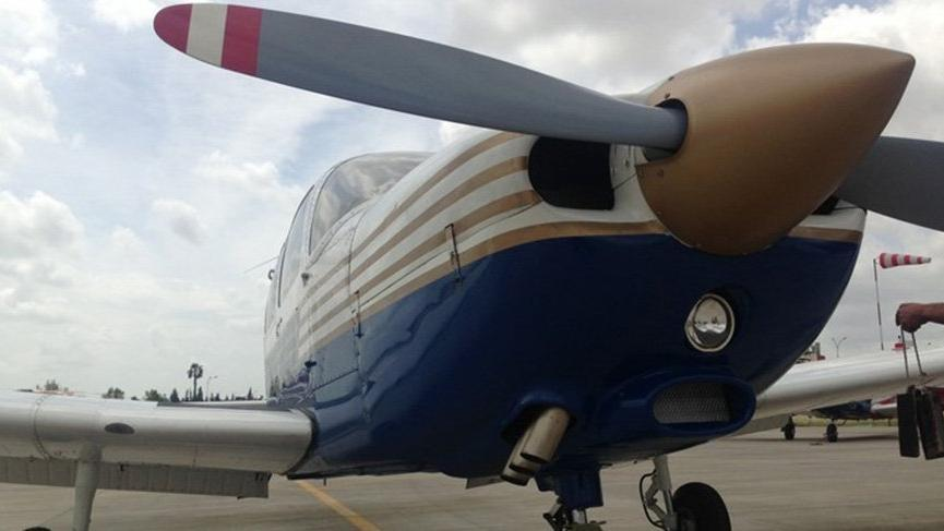 TMSF 5 uçak ile uçak bakım malzemelerini satışa çıkardı