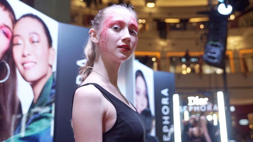 Nişantaşı Sephora mağazasından Gamze Yaşar üçüncü oldu