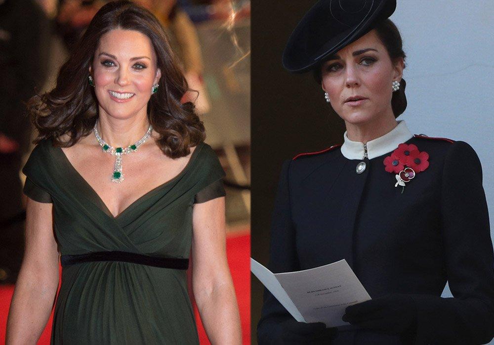 Kate Middleton, üçüncü çocuğu Prens Louis'e hamileyken oldukça canlı ve gergin bir cilde sahipti...