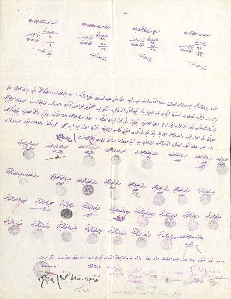 """Mehmet Akif Ersoy'un dergisi olan ve günümüzde de yayınlanan """"Sebilürreşad"""" Mehmet Akif'e ait olduğu iddia edilen bir kütük bekgesi yayınladı. Foto: Sözcü"""