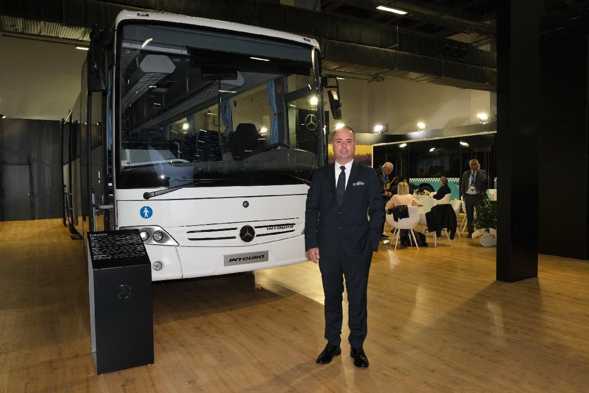 Mercedes-Benz Türk Otobüs Pazarlama ve Satış Direktörü Alper Kurt