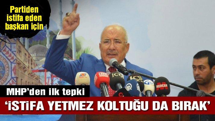 Mersin Büyükşehir Belediye Başkanı, MHP'den istifa etti, ilk tepki geldi