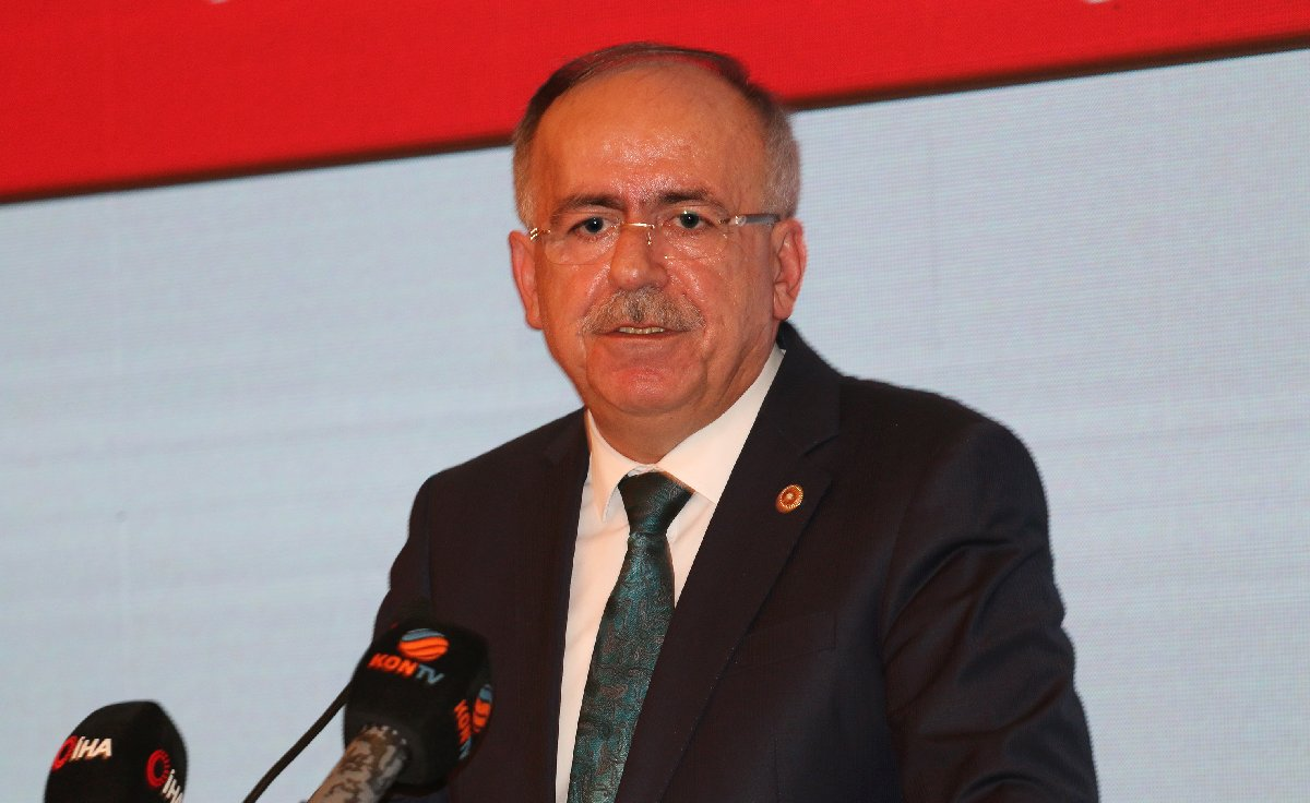 MHP Genel Başkan Yardımcısı Mustafa Kalaycı, partisinin yerel seçim çalışmalarına katıldı.