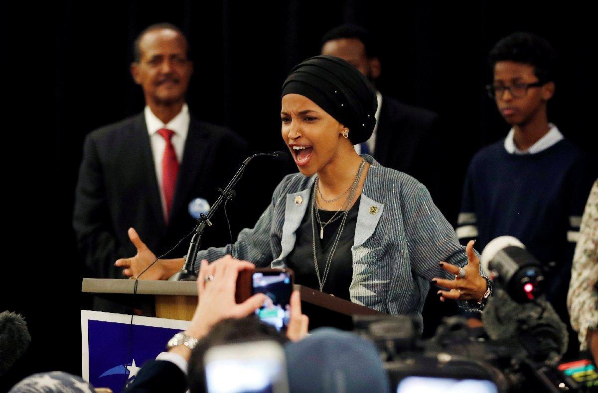 Minnesota eyaletinden yarışa giren Somali asıllı Ilhan Omar ise Temsilciler Meclisinin
