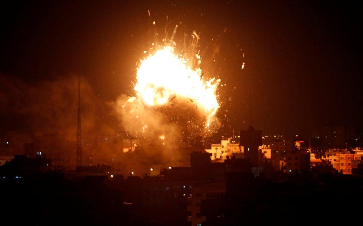 İsrail'in saldırısı, son yılların en şiddetlisi olarak tarihe geçti.