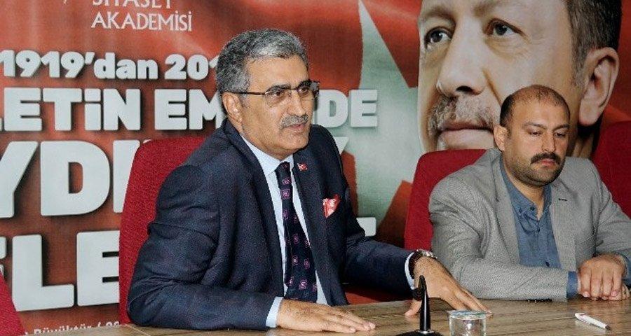Eski AKP milletvekili Recep Konuk için adaylığı için Kalaycı