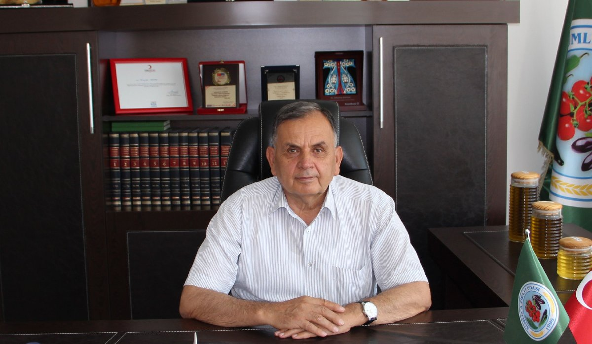 Antalya Kumluca tarım Odası Başkanı Süleyman Kayhan