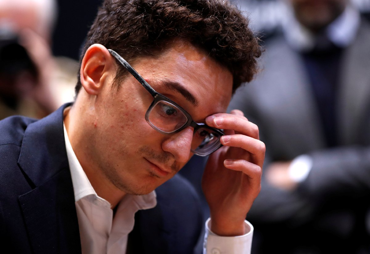 Dünya ikincisi ABD'li Fabiano. Reuters