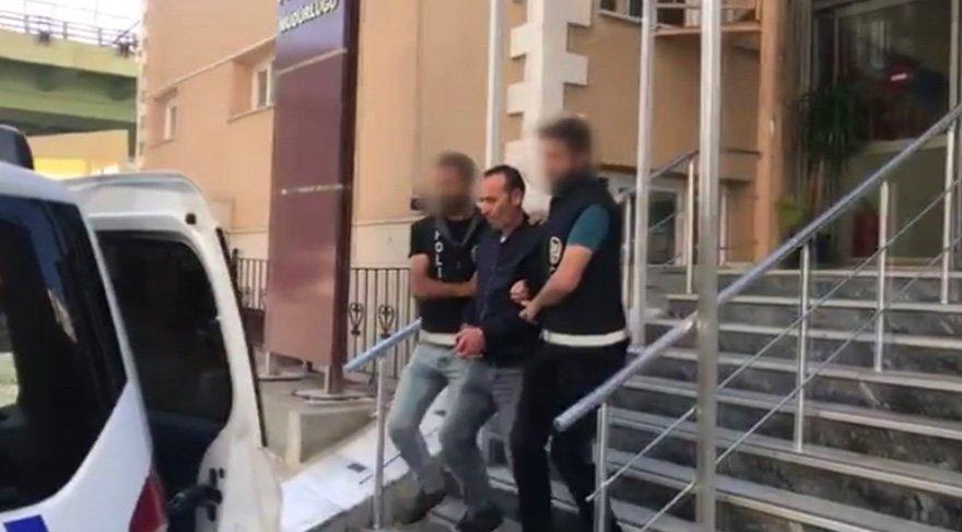 Gaspçı taksici savcılıktaki sorgusunun ardından serbest bırakıldı. Foto Sözcü