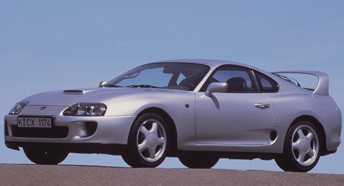 1996 model Toyota Supra