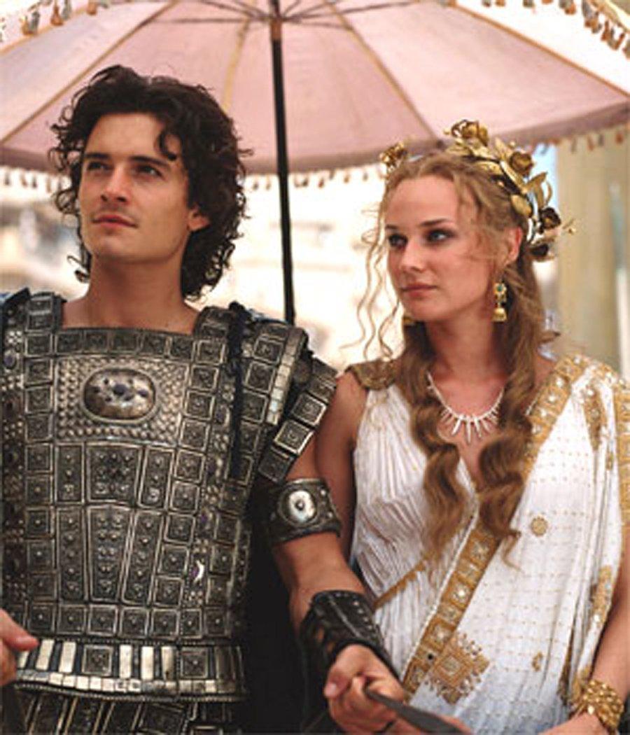 Efsane, 2004 yapımı Truva filminde işlenmişti.