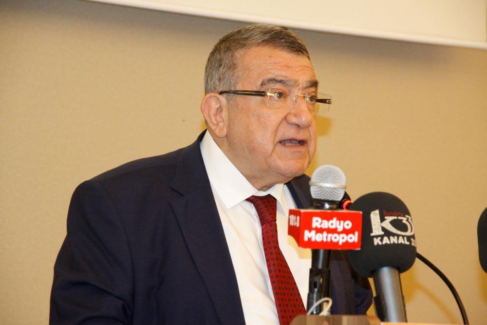 Mersin Ticaret Borsası Başkanı Abdullah Özdemir